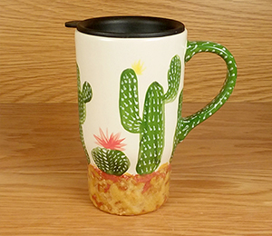 Rancho Bernardo Cactus Travel Mug
