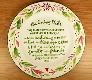 Rancho Bernardo The Giving Plate