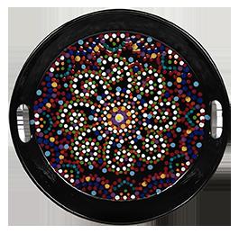 Rancho Bernardo Mosaic Mandala Tray