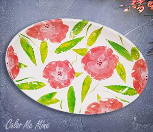 Rancho Bernardo Floral Paper Stamping