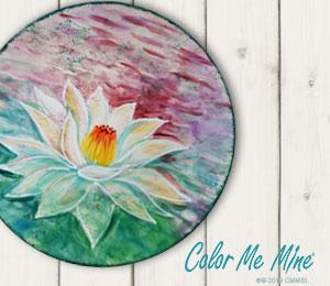 Rancho Bernardo Lotus Flower Plate