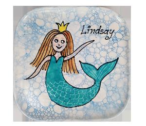 Rancho Bernardo Mermaid Plate