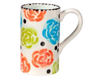 Rancho Bernardo Simple Floral Mug
