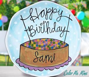 Rancho Bernardo Birthday Plate