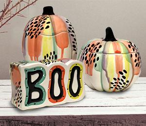 Rancho Bernardo Drippy Pumpkin Box