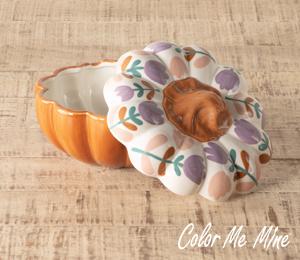Rancho Bernardo Floral Pumpkin Box