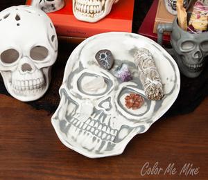 Rancho Bernardo Vintage Skull Plate